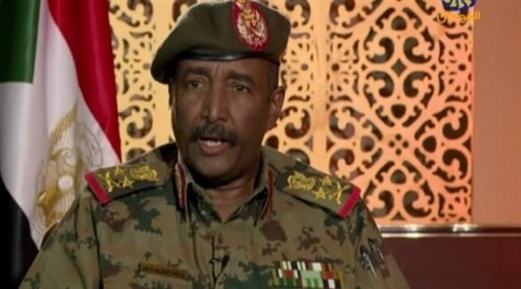 رئيس المجلس الانتقالي العسكري في السودان عبدالفتاح البرهان (أرشيف)