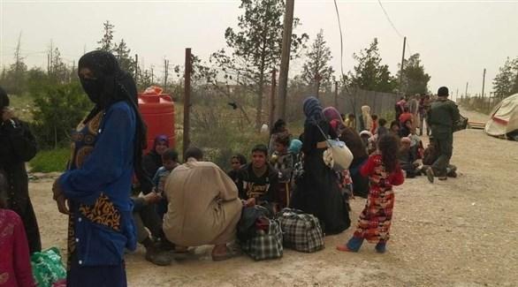 مخيم الهول للاجئين في سوريا (أرشيف)