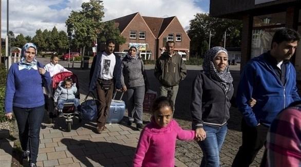 لاجئون سوريون في ألمانيا (أرشيف)
