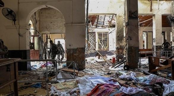 آثار أحد التفجيرات في استراليا (أرشيف)