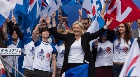 زعيمة حزب الجبهة الوطنية اليميني المتطرف الفرنسي مارين لوبان (د ب أ)