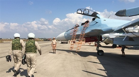 قوات روسية في قاعدة