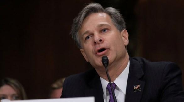 مدير مكتب التحقيقات الفدرالي الأمريكي كريستوفر راي (أرشيف)