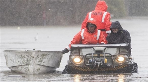 فيضانات في كندا (تويتر)