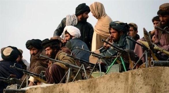 عناصر جماعة طالبان الإرهابية (أرشيف)
