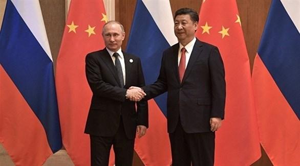 الرئيس الصيني شي جين بينغ ونظيره الروسي فلاديمير بوتين (أرشيف)