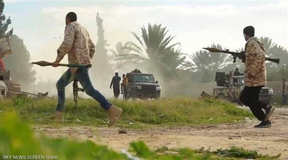 الميليشيات في طرابلس (أرشيف)