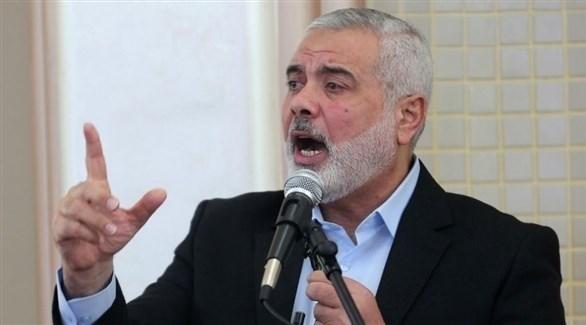 رئيس المكتب السياسي لحركة حماس إسماعيل هنية (أرشيف)