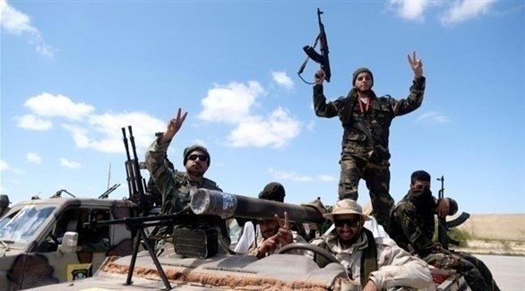عناصر من الجيش الليبي في طرابلس (رويترز)
