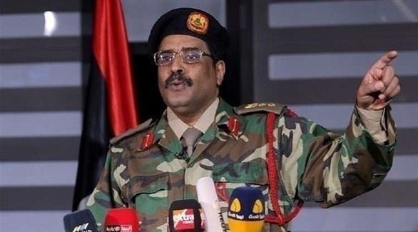 المتحدث باسم القيادة العامة للجيش الليبي اللواء أحمد المسماري (أرشيف)