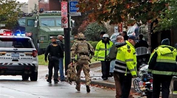الشرطة الأمريكية تطوق مكان الحادث (أرشيف)