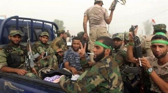 مسلحون من الميليشيات الإيرانية في سوريا (أرشيف)