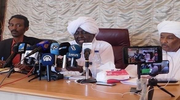 الأمين العام لحزب المؤتمر الشعبي السوداني علي الحاج (سودان تريبيون)