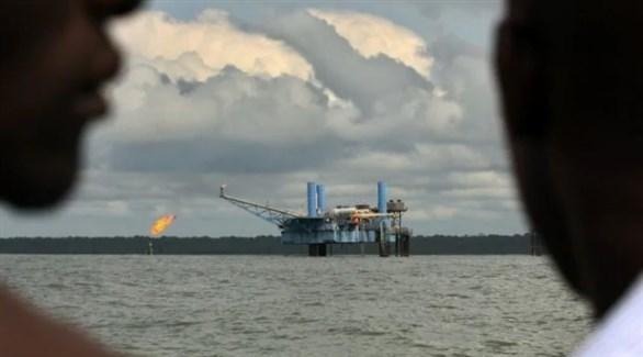 منصة نفطية في نيجيريا (أ ب)