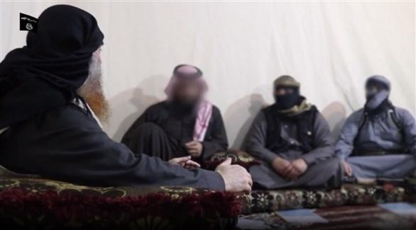 جانب من مقطع فيديو البغدادي (المصدر)
