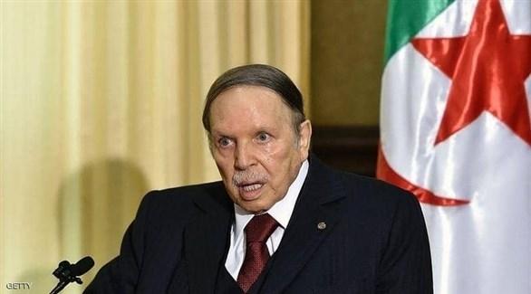 الرئيس الجزائري المستقيل عبدالعزيز بوتفليقة (أرشيف)