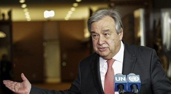 الأمين العام للأمم المتحدة، أنطونيو غوتيريش (أرشيف)