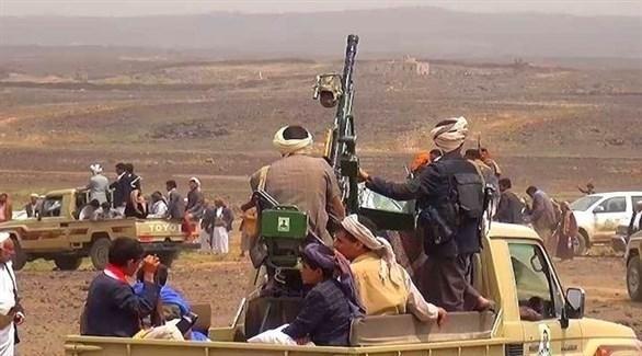 أفراد من قبيلة ارحب أحد قبائل صنعاء اليمنية (أرشيف)