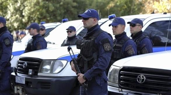 عناصر من الشرطة اليونانية (أرشيف)