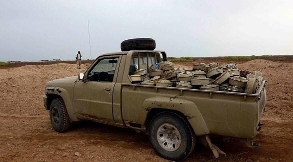 نزع الألغام والعبوات الناسفة في اليمن (أرشيف)