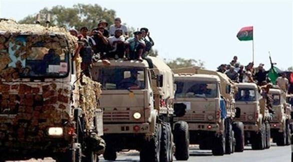 قوات من الجيش الوطني الليبي (أرشيف)