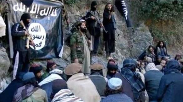 مقاتلون من تنظيم داعش الإرهابي في أفغانستان (أرشيف)