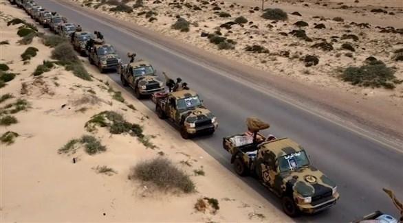 قوات حفتر على مشارف طرابلس (تويتر)