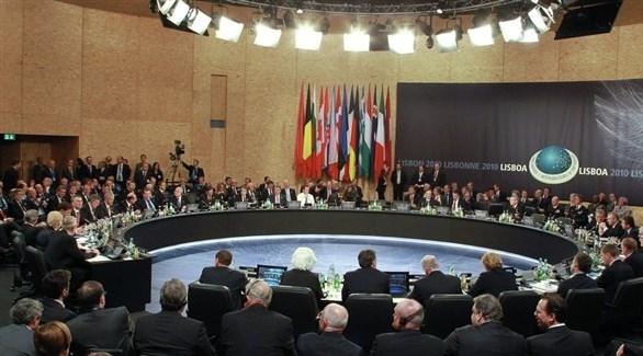 جانب من أحد اجتماعات وزراء خارجية حلف الناتو (أرشيف)
