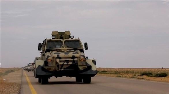 قوات حفتر تتجه نحو طرابلس (تويتر)