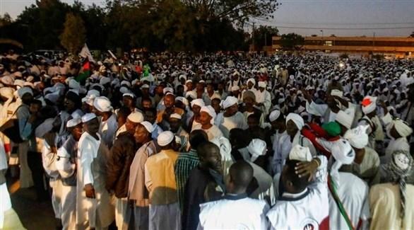 مظاهرات مسائية في السودان (أرشيف)
