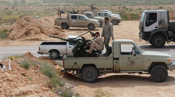 قوات الجيش الليبي (أرشيف)