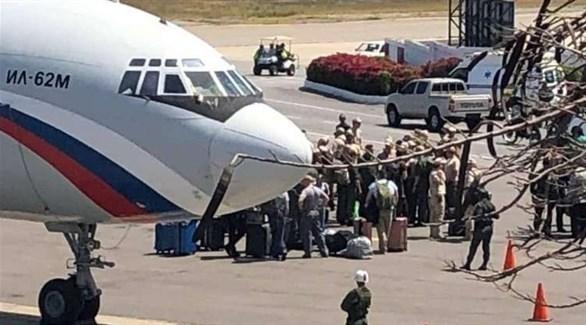 خبراء عسكريون روس في فنزويلا (أرشيف)