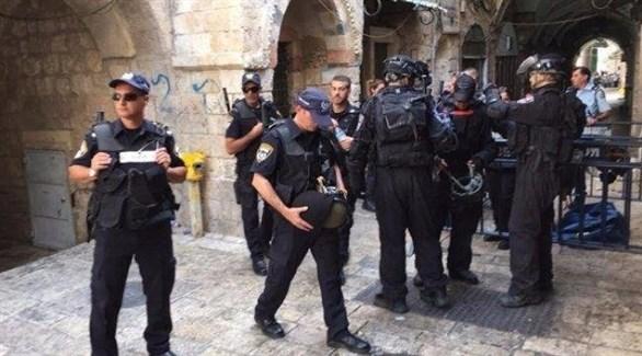 شرطة الاحتلال الإسرائيلي في الأقصى (أرشيف)