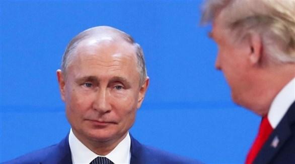 الرئيسان الأمريكي دونالد ترامب والروسي فلاديمير بوتين (رويترز)