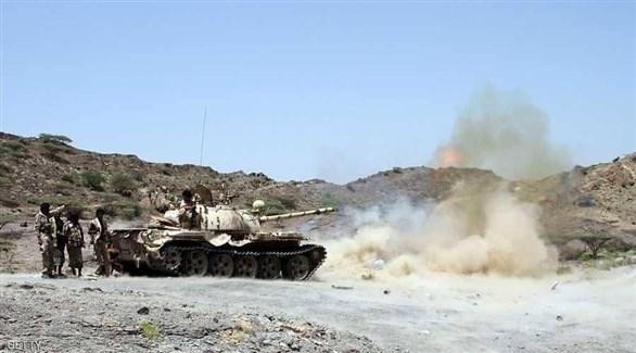 عناصر من قوات الجيش الوطني اليمني (أرشيف)