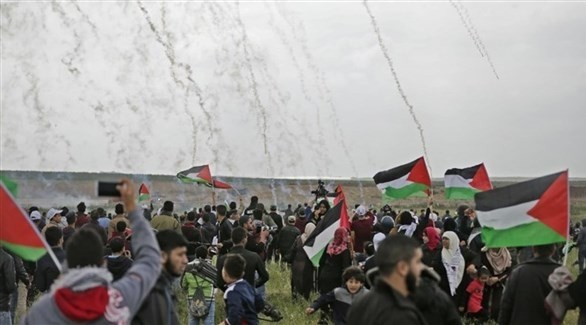 إصابات خلال قمع الاحتلال لمسيرات في غزة (أرشيف)