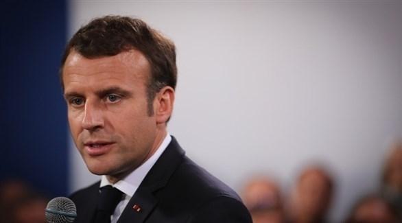 الرئيس الفرنسي إيمانويل ماكرون (إ ب أ)