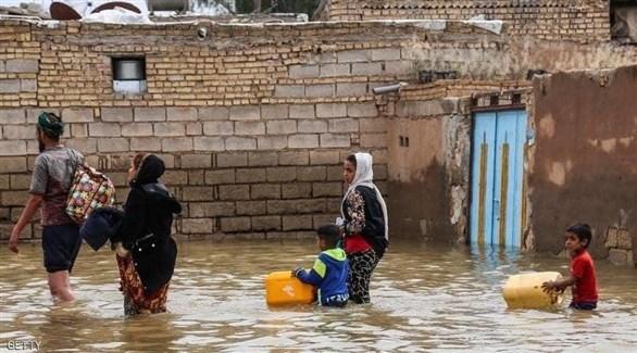 عمليات إجلاء المواطنين من القرى الإيرانية (أرشيف)