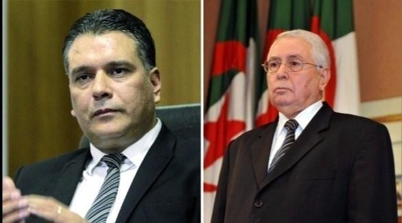 رئيس مجلس الأمة بن صالح وئريس المجلس الشعبي بوشارب (أرشيف)