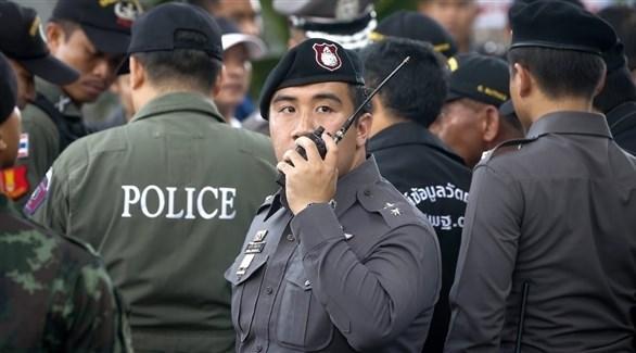 عناصر من شرطة تايلاند (أرشيف)