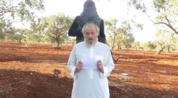 الإيطالي الذي كان مختطفاً بسوريا سيرجو زانوتي (أرشيف)