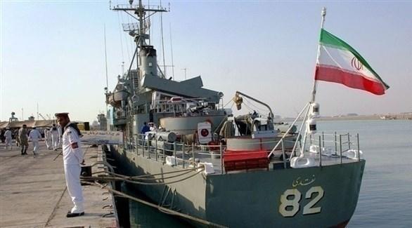 سفينة حربية إيرانية (أرشيف)