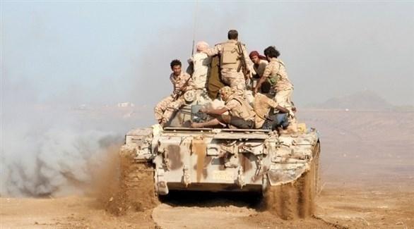 آلية وجنود من الجيش اليمني (أرشيف)