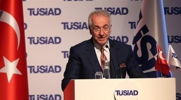 رئيس جمعية رجال الأعمال والصناعيين الأتراك سيمون كاسلوفسكي (أرشيف)
