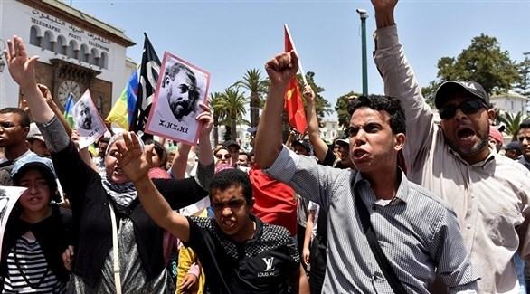 مظاهرات حراك الريف المغربي(أرشيف)