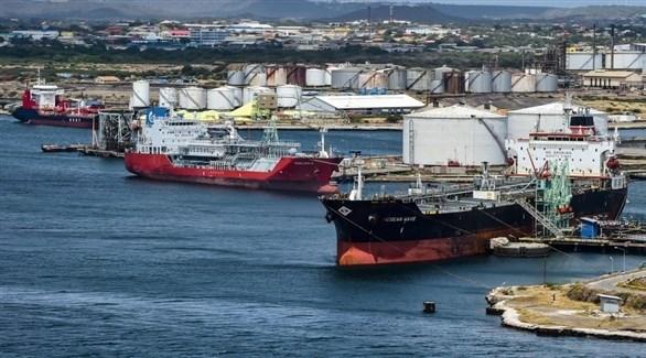 سفن تابعة لمجموعة النفط الفنزويلية الحكومية