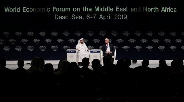 وزير الطاقة السعودي خالد الفالح يشارك بمنتدى دافوس بمنطقة البحر الميت (إ ب أ)