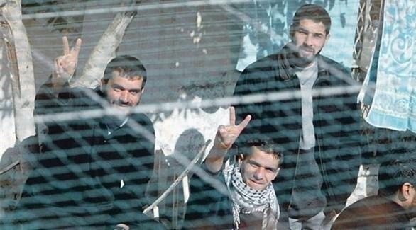 أسرى فلسطينيون في إحدى السجون الإسرائيلية (أرشيف)