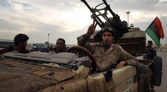 عناصر من قوات الجيش الليبي (أرشيف)