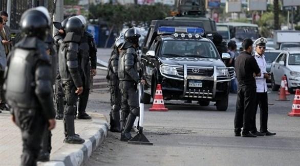 نقطة أمنية للشرطة المصرية في القاهرة (أرشيف)